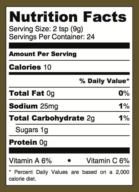 Pinalava_Nutrition
